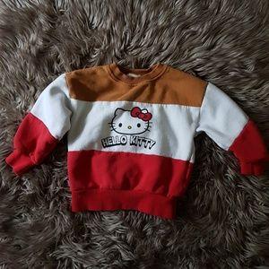 Zara x Hello Kitty Sweater 5T